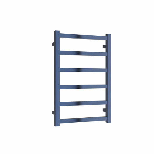 Reina Fano 720 x 485mm Designer Heated Towel Rail - Blue
