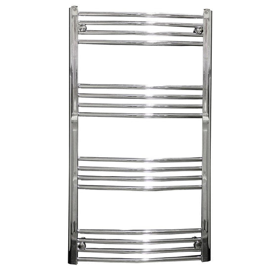 Chord 1200 x 600mm Curved Heated Towel Rail - welovecouk
