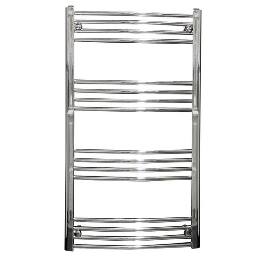 Chord 1200 x 500mm Curved Heated Towel Rail - welovecouk