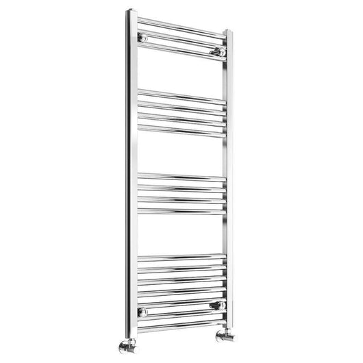 Chord 1000 x 400mm Straight Heated Towel Rail - welovecouk
