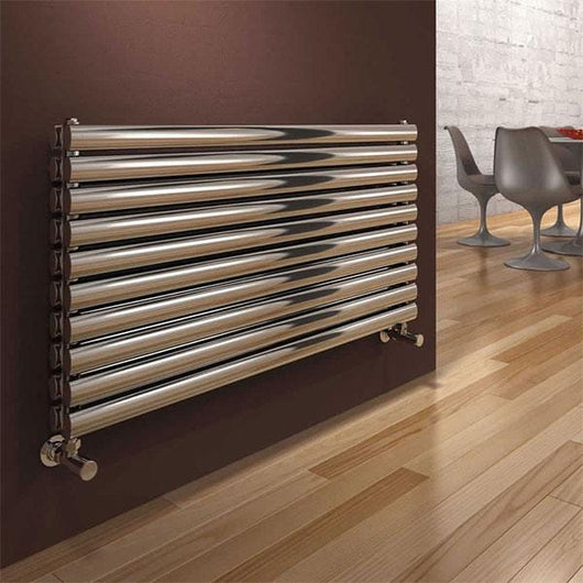 Reina Artena Double Steel Radiator 590 x 1000 - Polished - welovecouk