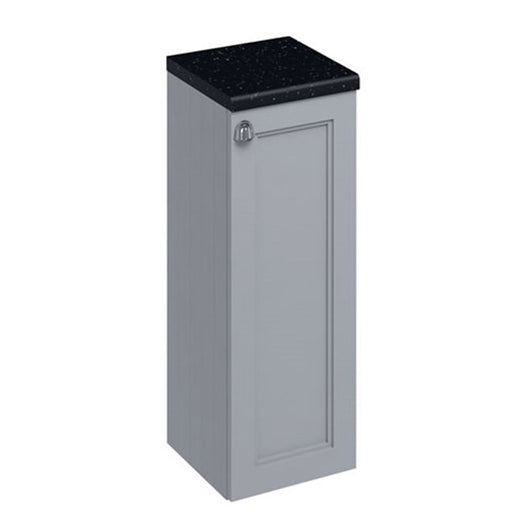 Burlington Floorstanding 300mm Single Door Storage Unit - Grey