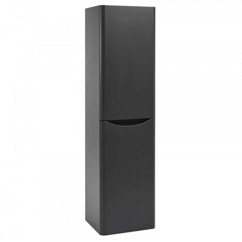 Bella Wall Mounted 400mm Tall Cabinet - Graphite Grey