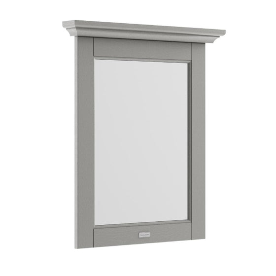 Old London 600mm Bathroom Mirror - Storm Grey - welovecouk