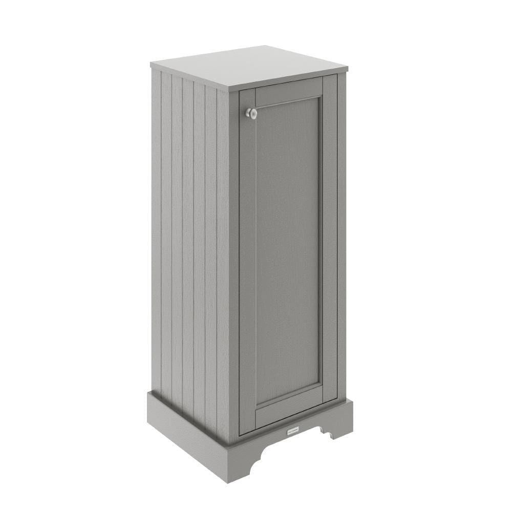Old London Tall Boy Bathroom Storage Unit - Storm Grey