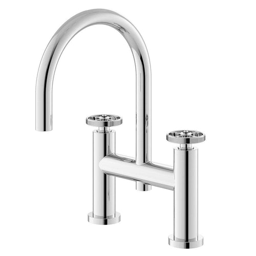 Hudson Reed Revolution Industrial Bath Filler