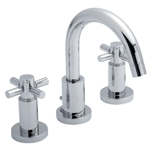 Hudson Reed Tec Crosshead 3-Hole Basin Mixer Tap Deck Mounted 3 Hole
