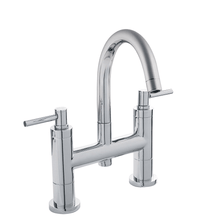 Hudson Reed Tec Lever Bath Filler With Swivel Spout Tap