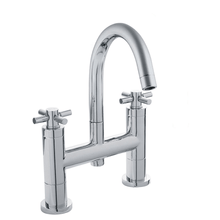 Hudson Reed Tec Crosshead Bath Filler With Swivel Spout Tap