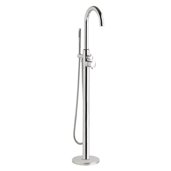 Hudson Reed Tec Single Lever Freestanding Thermostatic Bath Shower Mixer