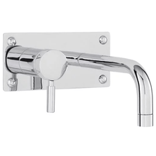 Load image into Gallery viewer, Hudson Reed Tec Wall Mounted Lever Basin / Bath Filler
