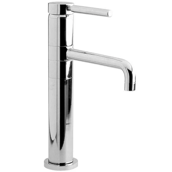 Hudson Reed Tec Single Lever Tall Basin Mixer Tap Bathroom Tap