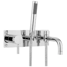 Hudson Reed Tec Wall Mounted Lever Bath Shower Mixer - welovecouk