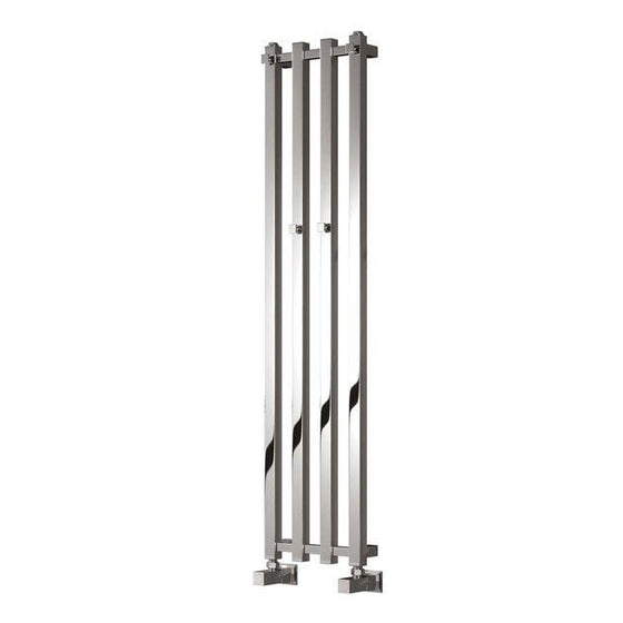 Reina Todi Steel Designer Heated Towel Rail 800 x 260 - Chrome