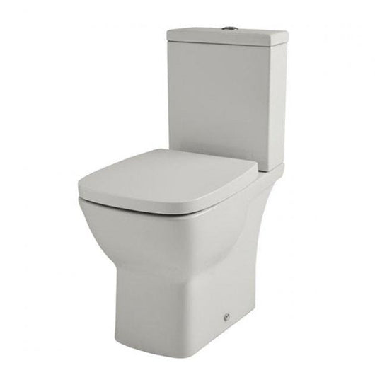 Evoke Close Coupled Toilet, Cistern & Soft Close Seat