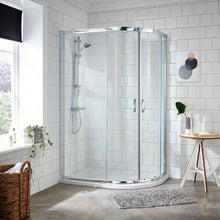 ShowerWorX Lela 1200 x 900mm Offset Quadrant Shower Enclosure - welovecouk