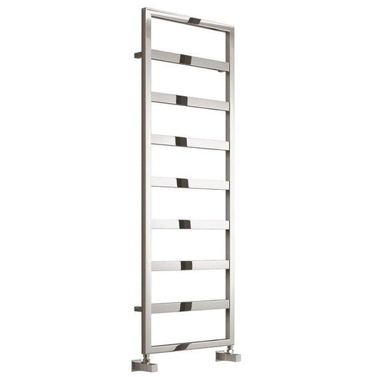 Reina Rezzo Steel Designer Heated Towel Rail 1460 x 450 - Chrome