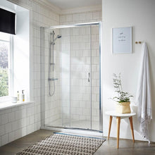 ShowerWorX Lela 1000mm Sliding Shower Door - welovecouk