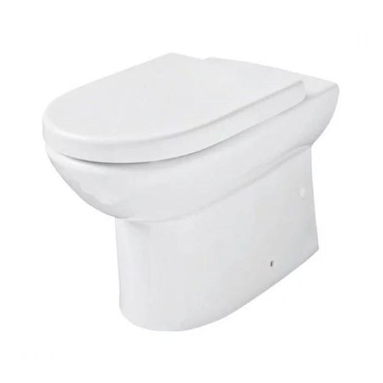 Scale Back to Wall Toilet & Soft Close Seat