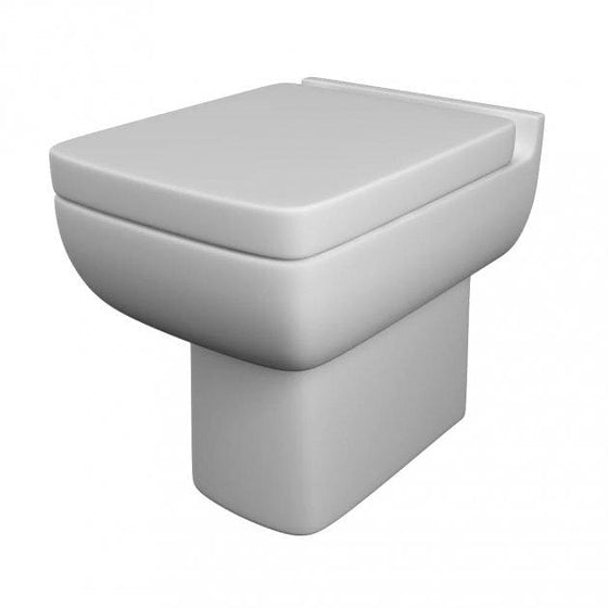 Options Back to Wall Toilet & Soft Close Seat