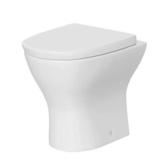 Impact Curved Back to Wall Toilet & Soft Close Seat