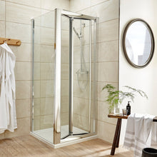 ShowerWorX Atlantic 1200mm Bi-Fold Shower Door - welovecouk