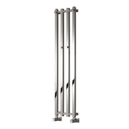 Reina Todi Steel Designer Heated Towel Rail 800 x 108 - Chrome