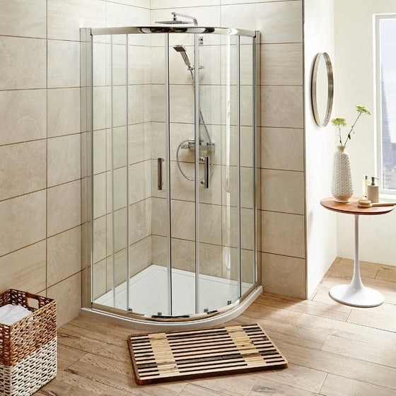 ShowerWorX Atlantic 1000mm Quadrant Shower Enclosure - welovecouk