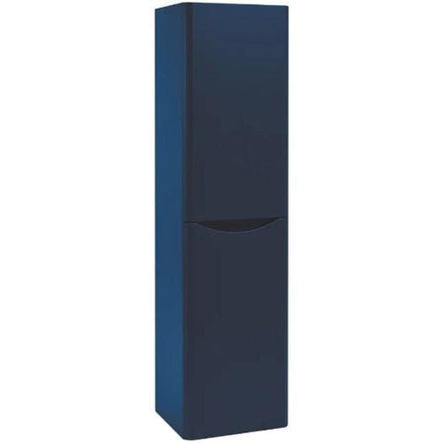 Bella Wall Mounted 400mm Tall Cabinet - Indigo Blue
