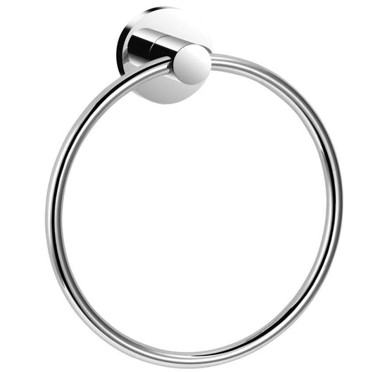 DesignCo Sanctity Chrome Towel Ring