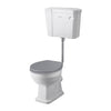 Bayswater Fitzroy Traditional Comfort Height Low Level Toilet