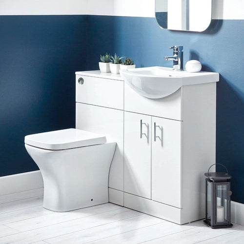 Lanza White Combination Unit - welovecouk