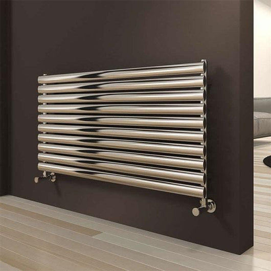 Reina Artena Single Steel Radiator 590 x 600 - Polished - welovecouk