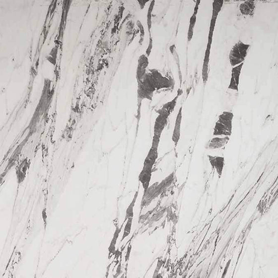 Showerwall Straight Edge 1200mm x 2440mm Panel - Lightning Marble - welovecouk