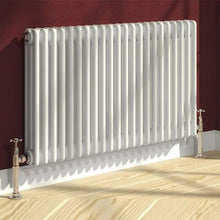 Reina Colona 3 Column Horizontal Steel Radiator - welovecouk