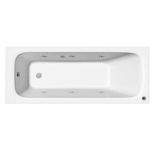 1700 x 700mm Mayford Whirlpool & Hydrotherapy Spa Bath - Various Options