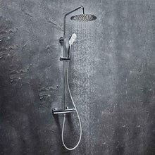 Messi Round Cool Touch Rigid Riser Shower - welovecouk