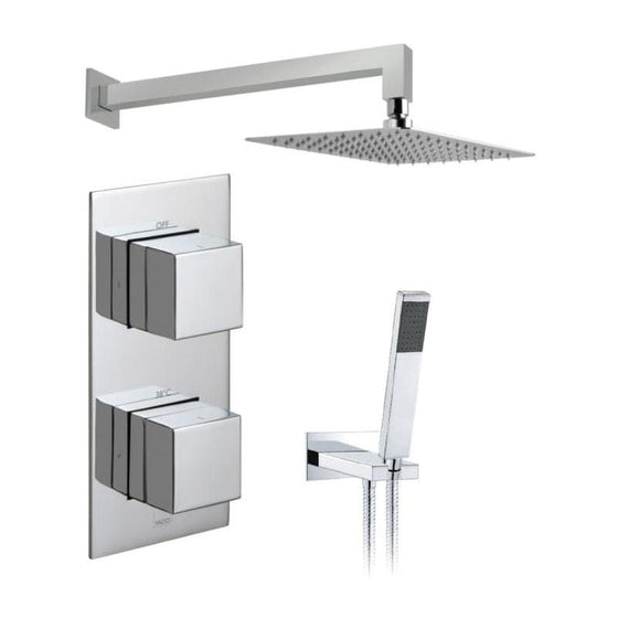 Vado Notion Thermostatic Valve With Head & Shower Kit