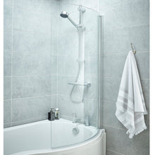 Curved P-Shaped Bath Screen - welovecouk