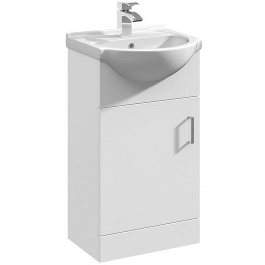 Percussion 450mm Floorstanding Basin Vanity Unit