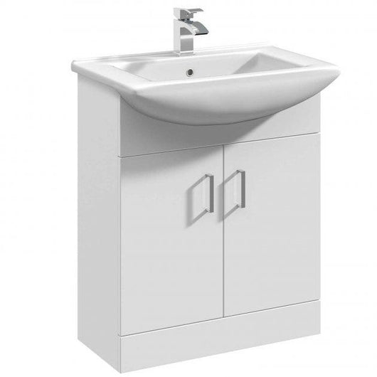 Percussion 650mm Floorstanding Basin Vanity Unit