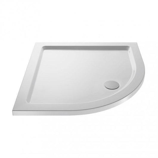 Teramo 6mm Glass 800 x 800 2 Door Quadrant Shower Enclosure with Stone Tray Pack