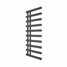 Reina Grace Vertical Steel Heated Towel Rail 1140 x 500 - Anthracite - welovecouk