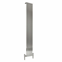 Reina Nerox Single Vertical Steel Radiator 1800 x 295 - Polished - welovecouk
