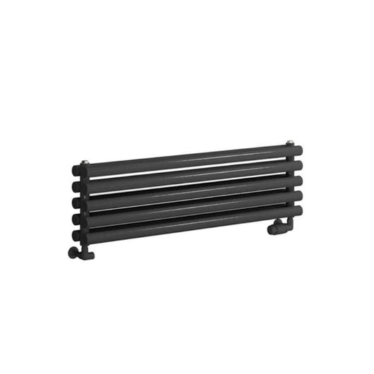 Reina Nevah Double Horizontal Steel Radiator 295 x 1000 - Anthracite - welovecouk