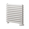 Reina Roda Double Horizontal Steel Radiator 590 x 600 - White - welovecouk