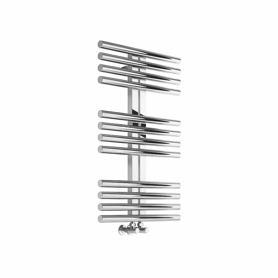 Reina Sorento Steel Heated Towel Rail 800 x 600 - Polished - welovecouk