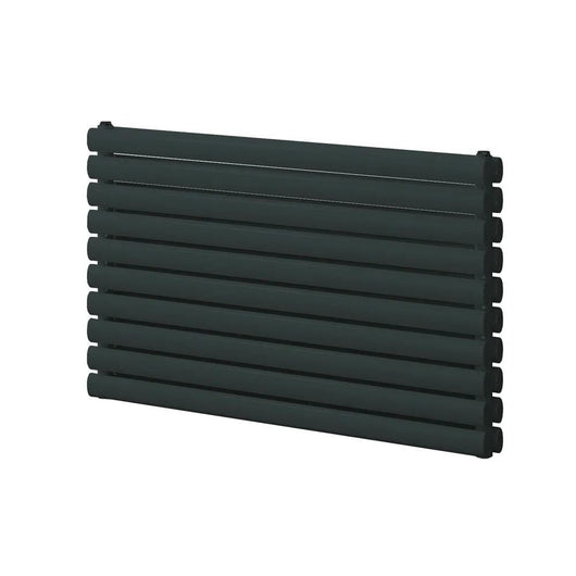 Reina Roda Single Horizontal Steel Radiator 590 x 800 - Anthracite - welovecouk