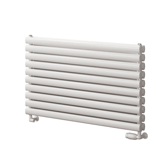 Reina Roda Single Horizontal Steel Radiator 590 x 800 - White - welovecouk