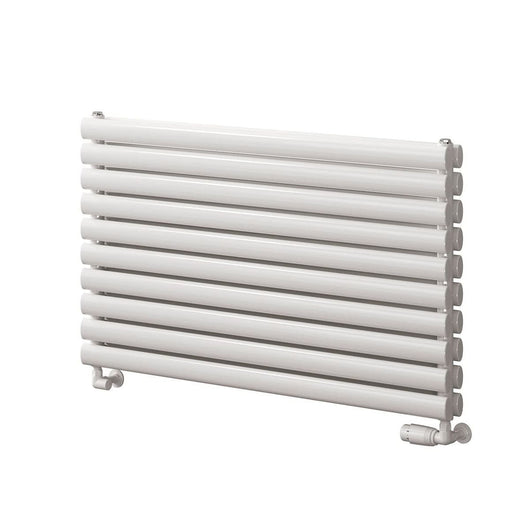 Reina Roda Single Horizontal Steel Radiator 590 x 600 - White - welovecouk